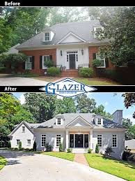 brilliant wonderful before and after home exteriors before and