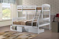 Three Sleeper Bunk Bed Pine Triple Bunk Beds Ebay