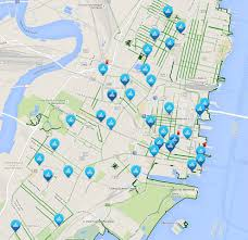 Map Of Jersey City Citi Bike Launches In Jersey City Soho West