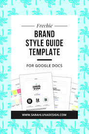 brand style guide why your business needs one sarah luna design