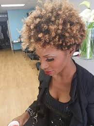 short hairstyles for black women spiked on top small curls in back and sides of hair 50 short hairstyles for black women stayglam
