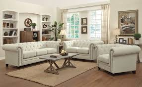 Fabric Sofa Sets by Button Tufted Fabric Sofa