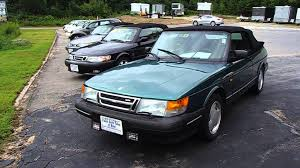 saab convertible 2016 1994 saab 900 turbo convertible 5mt w 245k walkaround overview