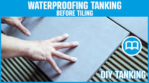 Ideas For Bathroom Waterproofing Bathroom Tile How To Waterproof A Bathroom Before Tiling Home