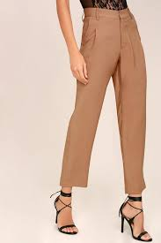 Light Colored Jeans Evidnt Cropped Pants Light Brown Pants Trouser Pants