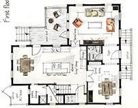 Floor Plans For Real Estate Boryana Ilieva On Behance