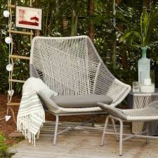 Outdoor Bar Setting Furniture by Huron Large Lounge Chair Cushion West Elm
