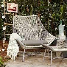 Patio Lounge Chair Cushions Huron Large Lounge Chair Cushion West Elm
