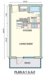 Studio Floor L Apartment Studio Apartment Floor Plans