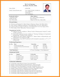 Job Resume Biodata by 6 Model Of Biodata For Job Resume Setups