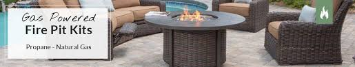 gas fire pit table kit gas fire pit kits propane natural gas fire pits tables