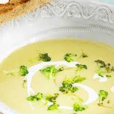 cuisiner le brocolis frais velouté de brocolis au fromage frais recette au fromage