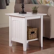 mission style end tables atlantic furniture charlotte end table hayneedle