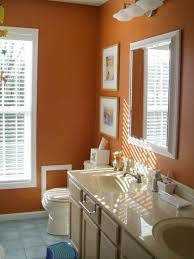 Bathrooms Painted Brown Best 25 Orange Bathrooms Ideas On Pinterest Orange Bathroom