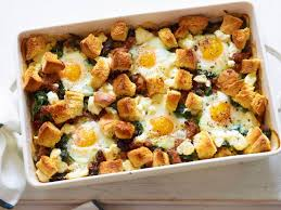 italian sausage and egg bake recipe giada de laurentiis food