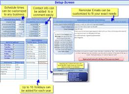 Free Spreadsheet Software For Windows 7 Free Excel Contact Appointment Scheduler With Reminder Emails
