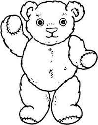 bear coloring baybear bears teddy bear