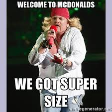Axl Rose Meme - axl rose le exige a google que elimine sus memes de internet radiónica