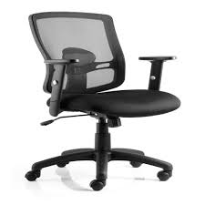 Black Mesh Office Chair Dynamic Portland Mesh Back Office Chair 121 Office Furniture
