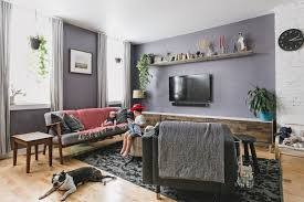 How To Decorate A Living Room On A Budget by Organic Modern Apartment Therapy