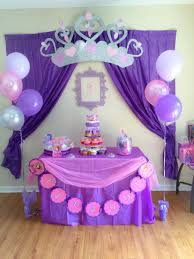 sofia the birthday party ideas interior design amazing princess theme party decorations