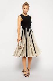 unique knee length prom dresses cheap 2015 jewel neck black top