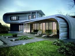 Build Artistic Wooden House Design With Simple And Modern Ideas - Eco home designs