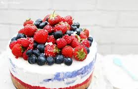 Little Berry No Bake Summer Berry U00274th Of July U0027 Cheesecake The Little Blog Of
