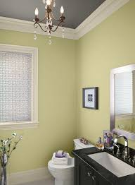 green bathroom ideas modern mix of green and gray paint color