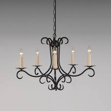 Rustic Candle Chandeliers Wonderful Rustic Candle Chandelier Considering Wrought Iron