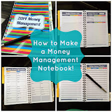 how to create a realistic household budget money matters how to make a money management notebook fresh and organized