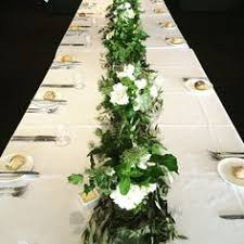 Jar Table L Foliage Branches And Pillars By Flower Jar Garland Pinterest