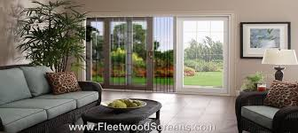 Patio Screen Frame Fleetwood Retractable Pleated Patio French Sliding Folding Door