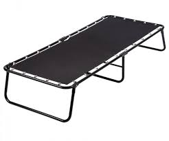 Folding Guest Bed Sleepmaster Folding Guest Bed Cot With Comfort Foam Mattress Yugster