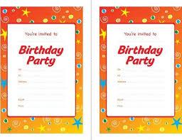 birthday party invites template orax info