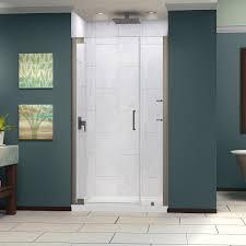 bathroom nice unidoorlux frameless shower door by dreamline
