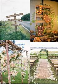 25 must see drop dead rustic wedding ideas