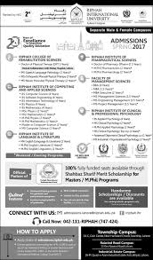 riphah college of rehabilitation sciences admission in lahore