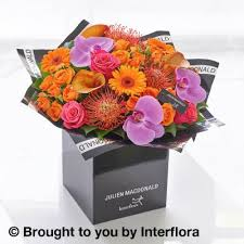 Calla Lily Flower Delivery - julien macdonald autumn calla lily and orchid hand tied booker