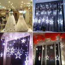 Outdoor Christmas Star Lights by Aliexpress Com Buy 110v 240v Led Star Lights Home Outdoor