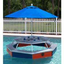 floating picnic table for sale rev fab inc water pod floating picnic table waterpod inyopools com