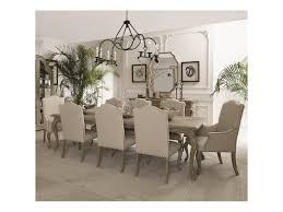 bernhardt campania 9 piece dining set dunk u0026 bright furniture