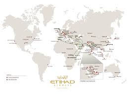 Airline Route Maps by Etihad Route Map Adriftskateshop