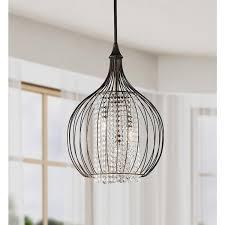 Indoor Lantern Chandelier Indoor 3 Light Copper Crystal Pendant Chandelier Free Shipping
