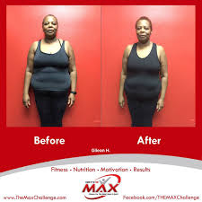 After Challenge Dramatic Before And After Results At The Max Challenge In East