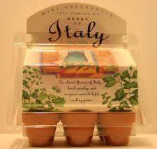Windowsill Greenhouse Herb Garden Kit Ebay