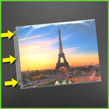 Scrapbook Binder 14x11 3 Ring Portfolio Binder With Clear Pages 11x14 Portfolio Book
