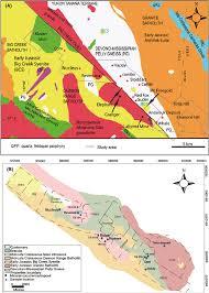 Map Of Yukon A Regional Geology Of The Dawson Range From Yukon Geological