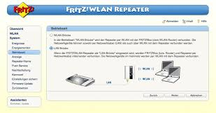 benutzeroberfläche fritz repeater fritz wlan repeater als access point einsetzen it solutions