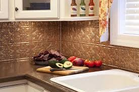 Copper Backsplash Tiles Metallic Copper Leaf Glass Tiles Are Made - Copper backsplash